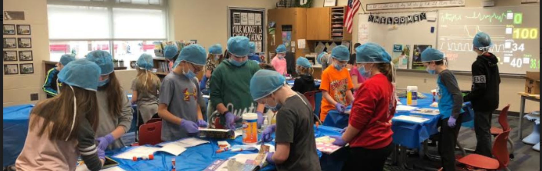 "3rd Graders perform text feature ""surgery"""