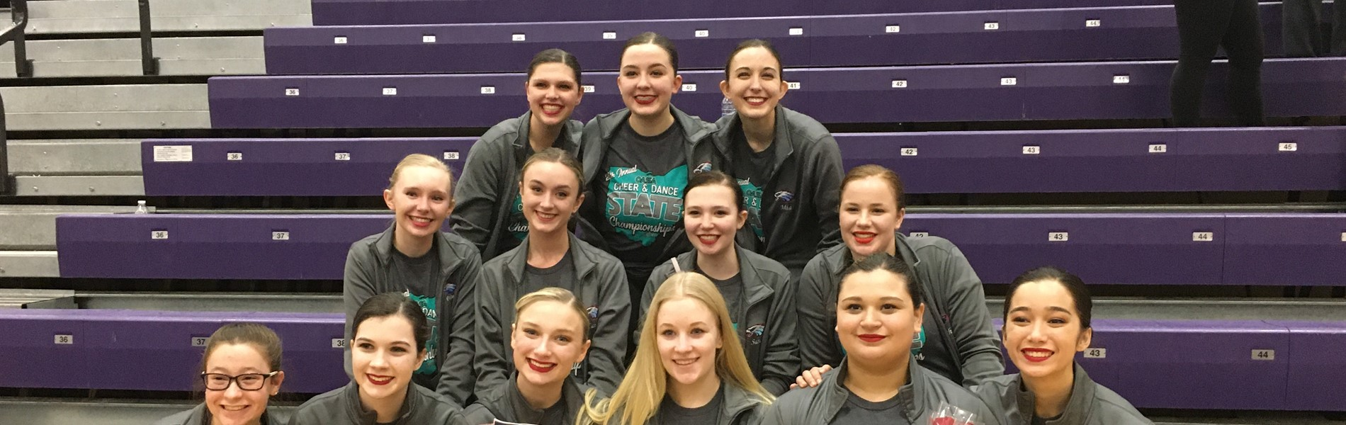 EHS Varsity Dance Team finished 13th in the State
