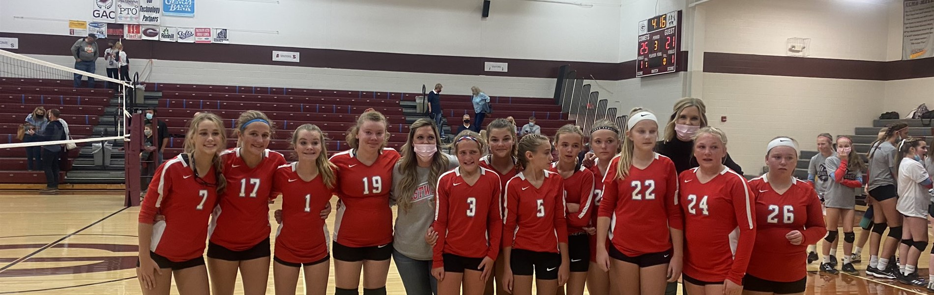 7th grade volleyball 2020