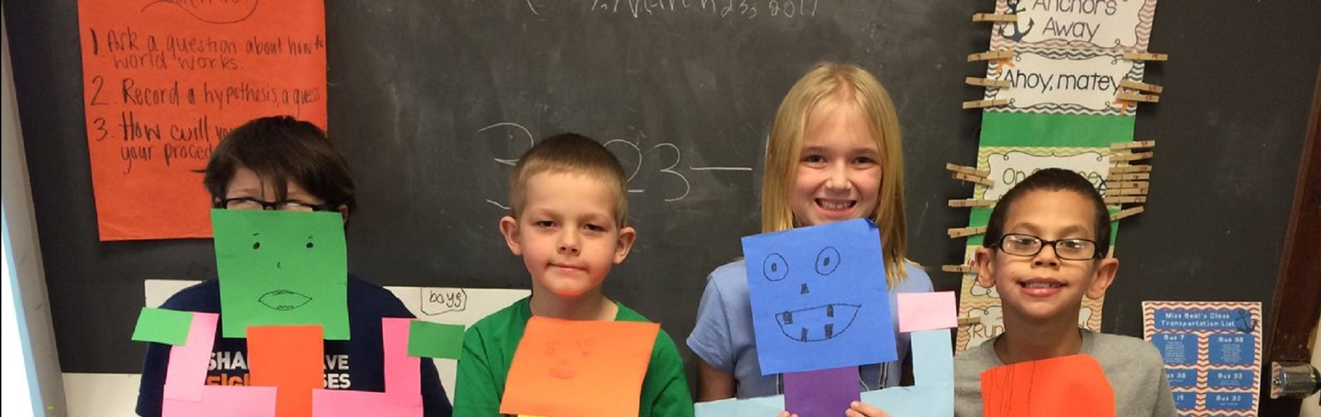 2nd grade measurement robots
