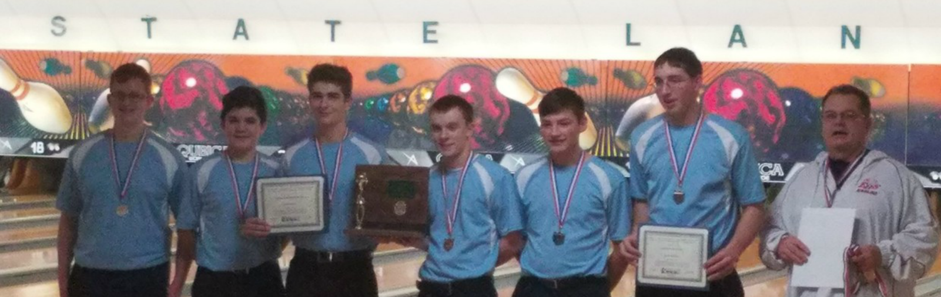 Eastwood Bowling Team - District Champions
