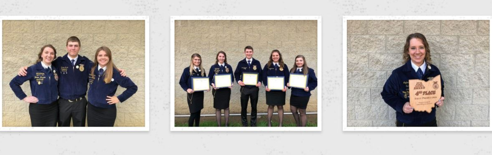 EHS Students Recognized at 90th Annual Ohio FFA Convention