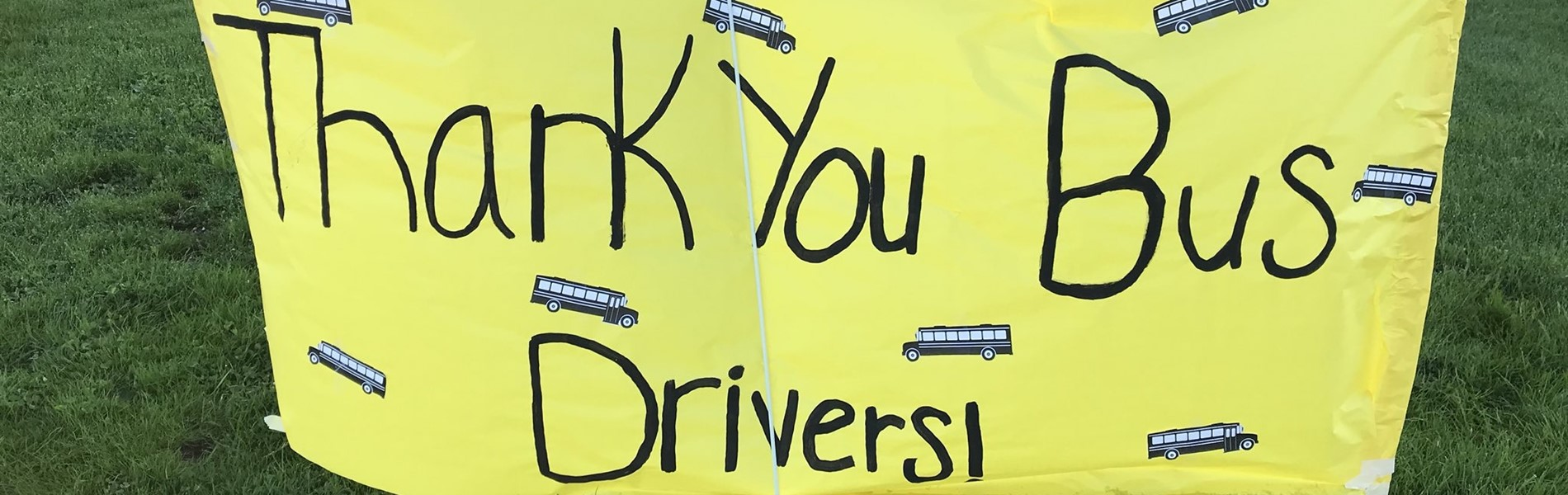 Thank you to our amazing bus drivers!
