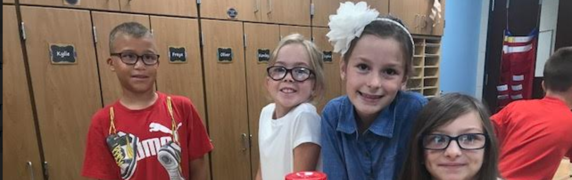 Elementary students are ready for the new school year