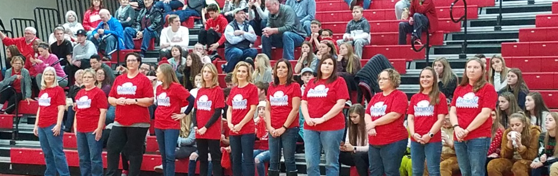 1993 State Championship Volleyball recognized during JV & Varsity Boys Basketball game